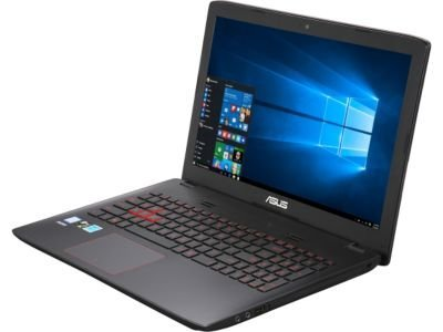 ASUS FZ50VW-NS51 Gaming Laptop 6th Generation Intel Core i5 6300HQ (2.30 GHz) 8 GB DDR4 Memory 1 TB HDD 128 GB SSD NVIDIA GeForce GTX 960M 2 GB GDDR5 15.6'' Windows 10 Home 64-Bit