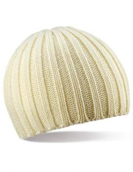 Beechfield Chunky Knit Beanie (2912) one size,Off white one size,Off White