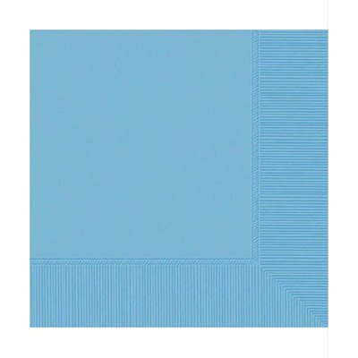 Powder Blue Beverage Napkins (50ct)