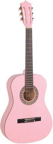 Falcon 3/4 Size Classic Acoustic Guitar – Pink