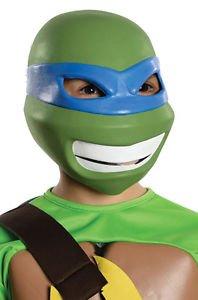 Teenage Mutant Ninja Turtles Leonardo Child Vinyl Mask (Original Leonardo Adult Costume Mask)