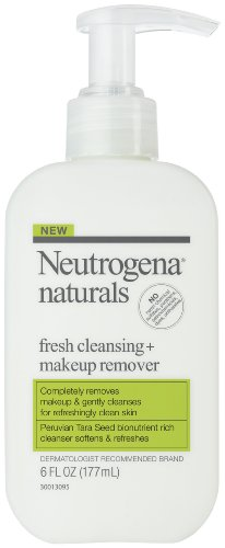 Neutrogena Naturals Fresh Cleansing + Makeup Remover, 6-Ounces  (Pack of 2)