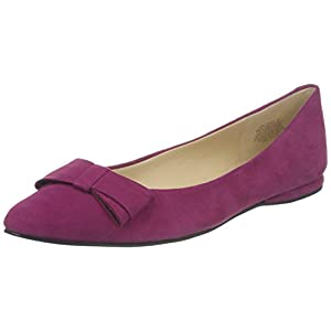 Nine West Women's Schmakaroo Suede Ballet Flat