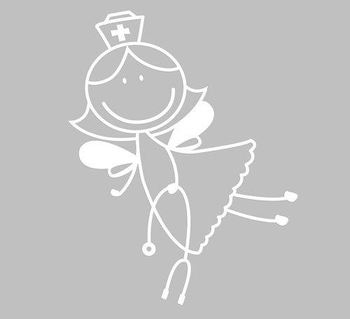 Fairy-Nurse-Car-Window-Decal