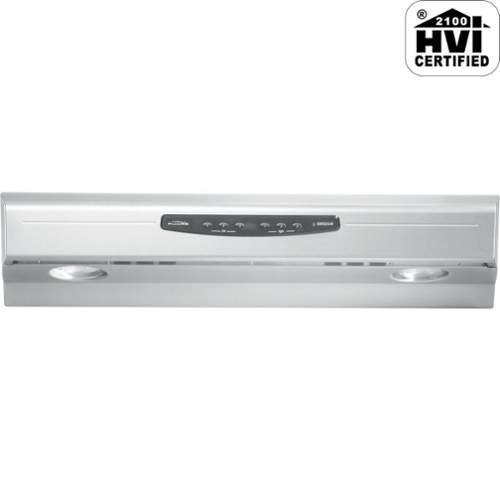 Broan QS236SS Allure II Under-Cabinet Range Hood, 36-Inch, Stainless Steel (Allure Range Hood Filter 36 compare prices)