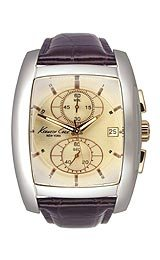 Kenneth Cole New York Men's Dress Explorer Collection Rose Gold Dial Strap Watch #KC1523