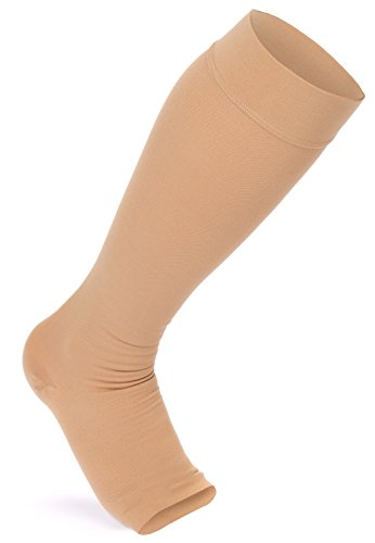 MadeMother Maternity Compression Stockings: Premium Support Socks Provide Guaranteed Pain Relief And Comfort For Expecting Women. Prevents Varicose Veins, Edema, And DVT! Great Baby Shower Gift Idea!