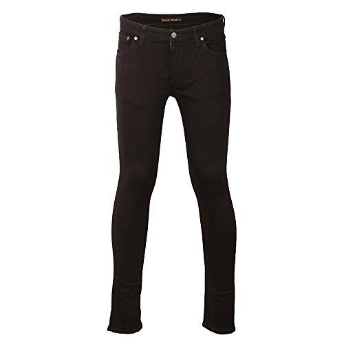 nudie-pantalon-jean-skinny-pour-homme-lin-black-black-34w-30l