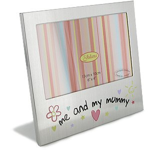 Me and My Mummy Aluminium Photo Frame