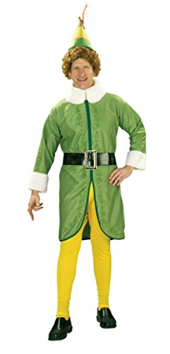 Rubies Mens Buddy The Elf Christmas Holiday Theme Party Fancy Costume