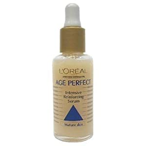 L'oreal Age Perfect Intensive Reinforcing Serum High Concentratioon Soya Bean Extract (Mature Skin) 1oz./30ml