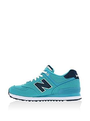 New Balance Zapatillas Wl574Bfl (Turquesa / Azul)