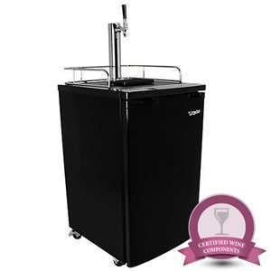 EdgeStar Wine Keg Dispenser - Wine on Tap System - Black