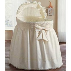 Precious Bassinet Set Color Ecru back-977771