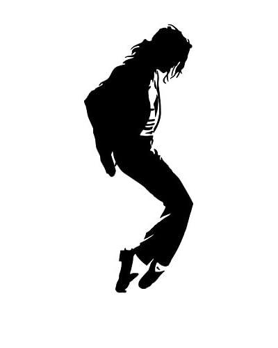 LINEA ARTISTICA Vinilo Decorativo Michael Jackson