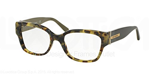TORY BURCH Eyeglasses TY 2056 1477 Olive Tweed/Olive 52MM (Tory Burch Eyeglass Frames compare prices)