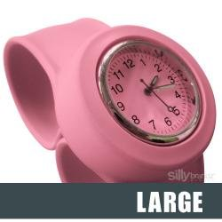 31mzQtvcDEL Cheap Price Silly Slapz! Slap Watch by Silly Bandz   Large Slap On Watch  Pink