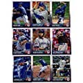 2015 Topps Baseball Cards Toronto Blue Jays Complete Master Team Set (Series 1 & 2 + Update - 40 Cards) With Team Card, Jose Bautista, Marcus Stroman, Sergio Santos, Dalton Pompey, Brett Lawrie, Daniel Norris, Dioner Navarro, Edwin Encarnacion and some sh