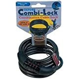 Oxford Combination Combi Lock 1.5m x 6mm, For Bike Bicycle
