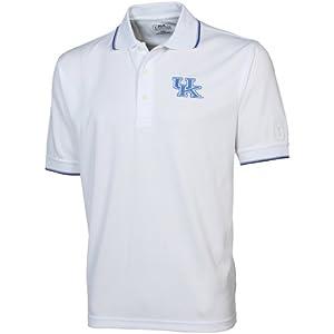Kentucky Wildcats PGA TOUR Mens Tipped Polo Shirt by PGA TOUR