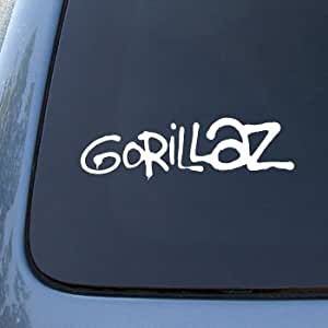 Amazon Com Gorillaz Vinyl Car Decal Sticker A1603