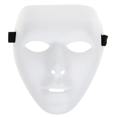 HITREE 5 Pcs Jabbawockeez Hip-hop Mask for Halloween Cosplay Costume Party