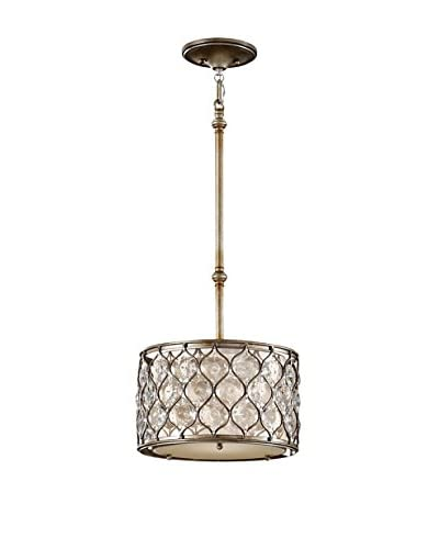 Feiss 1-Light Lucia, Burnished Silver