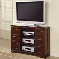 Cheap TV Stands Classic Media Console with Doors and Shelves by Coaster (B0051PEB2W)