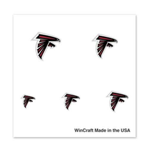 Atlanta Falcons Fingernail Tattoos - 4 Pack