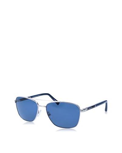 E. Zegna Gafas de Sol EZ0014 (58 mm) Plateado