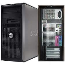 Dell Optiplex 755 Tower Computer, Featuring Intel Insanely Fast and Powerful CORE 2 QUAD 2.4ghz Processor , 4GB DDR2 Interlaced High Performance Memory, Large 500GB SATA Hard Drive, Crystal Clear VGA Video