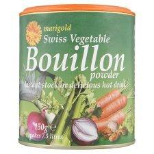 Marigold suisse Bouillon de légumes en poudre 150G
