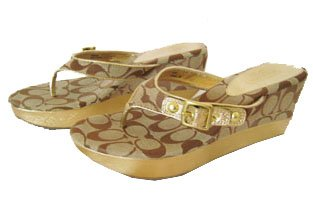 Coach Gracy Wedge Sandals
