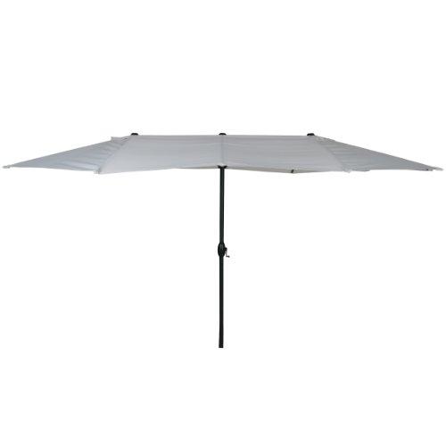 Cute Buy Greemotion Garden Patio Umbrella Parasol UV Luna White x CM height approx CM