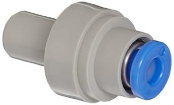 SMC KDMP-04 PBT Multi-Connector Plug, 4 mm Tube OD