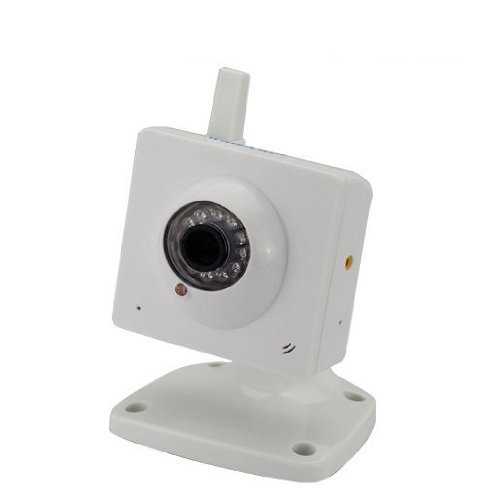 Wanscam Remote Control Cctv Security Surveillance System Ir Wireless Wifi Night Vision Internet Ip Camera Baby Monitor - White front-275240