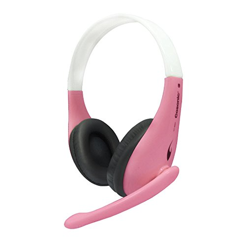Cosonic Ct-650 High-Quality Super Heavy Bass Stereo Surround Pc Headphones Computer Headsets Gaming Headsets Pc Earphone With Microphones (Pink)