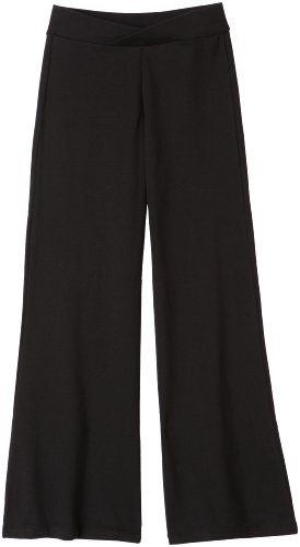 Capezio Little Girls' Jazz Pant,Black,I ( 6-8) front-12620