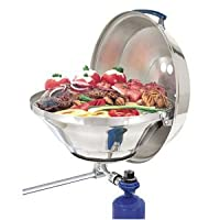 "Magma Marine Kettle Gas Grill Party Size 17"" w/Hinged Lid from Magma"