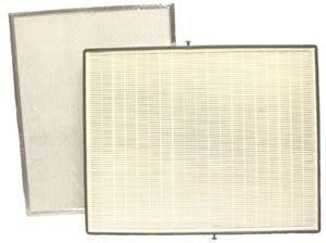 Broan ACCGSFHP2 Air Purifier HEPA Filter Kit (2 Pre-Filters & 1 HEPA)