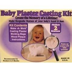 Baby Plaster Casting Kit - 1