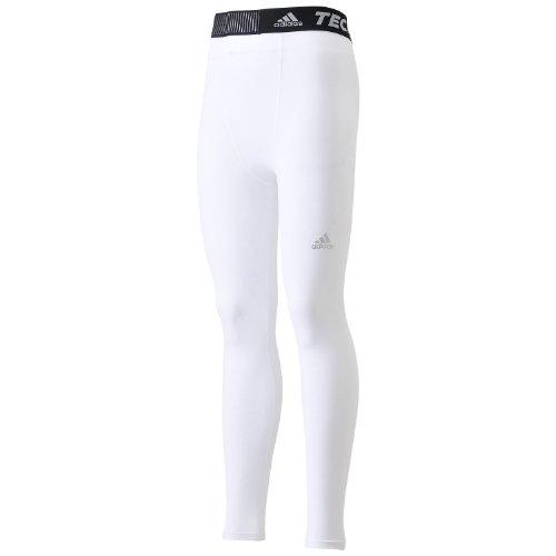 (アディダス)adidas TEAM TF BASE ロングタイツ AJ453 D82126 ホワイト/ホワイト J/S