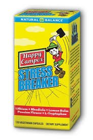 Happy Camper stress disjoncteur Natural Balance