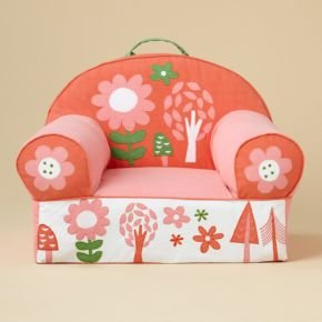 Toddler Chairs: Flower Cover Only by Land of Nod