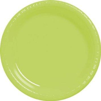 "Kiwi 10.5"" Plastic Plates 20ct"