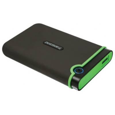 Transcend Information 1 TB USB 3.0 External Hard Drive - Military Drop Standards- TS1TSJ25M3 deal 2015