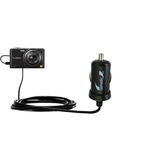 Intelligentes 2A / 10W Kompakt-Ladegerät DC kompatibel mit Panasonic Lumix DMC-SZ3K mit TipExchange Technologie