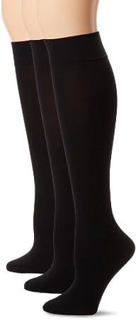 HUE Womens Soft Opaque Knee High Soc…