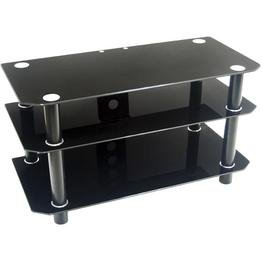 Cheap 42 in. Contempo Black TV Stand – Walker Edison V42Y79B (V42Y79B)