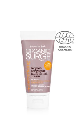 Organic Surge Tropical Bergamot Hand and Nail Cream 75ml